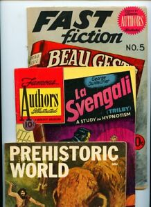 Classics Illustrated Special #167A, Famous Authors #12, and Fast Fiction #5