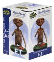 NEW  NECA Head Knockers E.T. The Extra-Terrestrial Hand Painted Resin Bobblehead