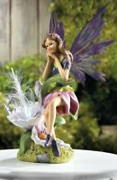 "Fairy with Flower Solar Garden Light "" Delightful & Enchanting"" FREE SHIPPING"