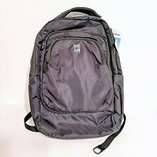 "Swiss Gear RFID 17"" Large Backpack Laptop Travel Bag Carry-On Black"