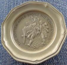 The Rotten Apple... - Franklin MInt Miniature Collectible Plate - VGC BRONZE