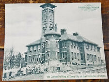 The College Building James K Shook School Tracy City TN Tennessee Postcard Card