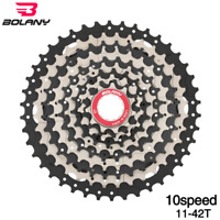 Bolany MTB 10 Speed 11-42T Cassette MTB Mountain Bike Freewheel Bicycle Flywheel
