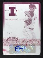 2015 Contenders College Ticket Printing Plates Magenta Tyler Jay Throwing Auto