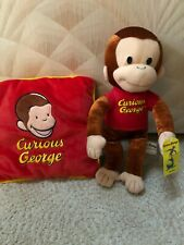 Curious George plush pillow & doll