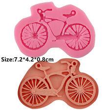 Silicone Cake Fondant Cookie Kuchen Schokolade Mould Decorating Bike Bicycle