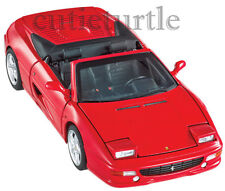 Hot Wheels Elite Ferrari F355 Spider Convertible 1:18 Diecast Model Red BLY34