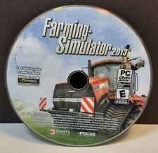 Farming Simulator 2013 (PC, 2012) DISC ONLY