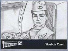 Thunderbirds 50 Years Sketch Card by Westley Smith of Scott Tracy