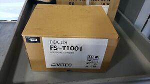 New Vitec Focus Enhancements FS-T1001 Portable DTE Recorder ASYF-1437-01LF