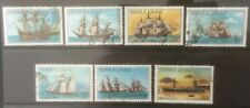 SIERRA LEONE 1984 HISTORY OF SHIPPING 7 USED VALUES