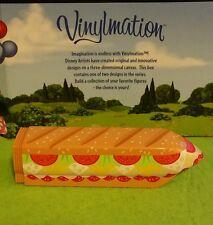 """Disney Vinylmation Park - 3"""" Inch - Monorail Cast Chaser Submarine Sandwich Sub"""