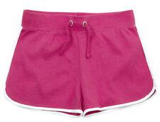 Girls 100% Jersey Cotton Shorts Casual Summer Shorts Retro Stripe Hot pants Size