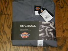 Dickies Coveralls Deluxe Long Sleeve 4870GY cn 32 Size L Short  NEW NWT