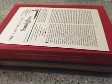 Saint-Simon The Memoirs Heritage Press in Slipcase With Sandglass