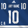 Toronto Maple Leafs Adidas Jersey Custom Any Name Any Number Pro Lettering Kit