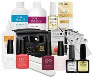 CND Shellac UV/LED Chic Trial Starter Kit, Power Polish Intro Pack