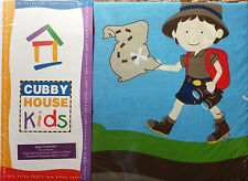 KIDS QUILT COVER SET - TREASURE HUNTER - LADELLE CUBBY HOUSE