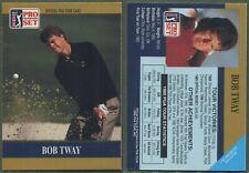 1990 Pro Set PGA Tour - Promo - Bob Tway - Variation du logo plus petit (a)