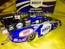 NHRA RON CAPPS 1:24 RC2 Diecast BRUT Nitro TOP FUEL Funny Car HEMI Schumacher