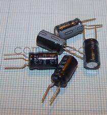 220uF 6,3V 85°C Condensatori Nippon Chemicon SME Series 6,5 X 11mm 10 pezzi