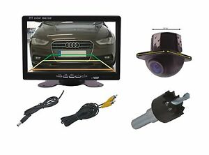 """Substructure Rear View Camera CM318 & 7 """" Monitor Fits for Honda"""