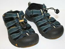 "Pre-Worn Youth Big Kids KEEN Blue ""Newport H2"" Sandals sz US 3, EUR 35, UK 2"