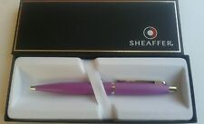 FREE ENGRAVING (PERSONALIZED) Sheaffer Purple Lavender Ballpoint Pen