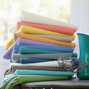 Glorious Bedding Sheet Set Deep Pocket Egyptian Cotton US Full XL Size All Solid