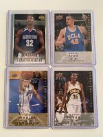 Lot Of 4 2008-09 Kevin Love Green Redick Durant Rookie Card Lot First Lebron