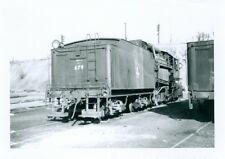 Vintage Jersey Central # 679 tender shot, steam locomotive, Geo Niles Jr. photo