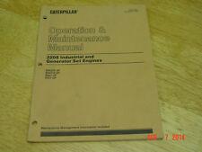 Caterpillar 3208 Industrial and Gen set Engines Operation/Maintenance Manual