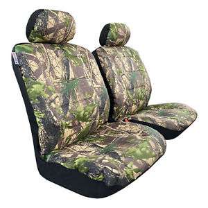 Camouflage Car Seat Covers Front Set