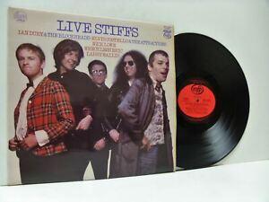LIVE STIFFS various artists LP EX+/EX, MFP 50445, vinyl, album, new wave, 1979,
