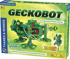 Thames & Kosmos Geckobot Wall Climbing Robot Climbs Smooth Vertical Surfaces