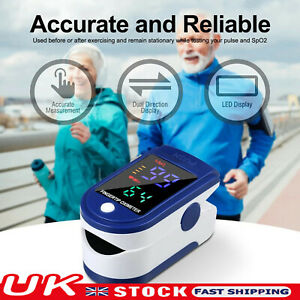 New Pulse Oximeter Blood Oxygen Saturation Monitor Fingertip Heart Rate Sp02