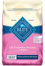 Blue Buffalo Life Protection Small Breed Dry Dog Food Chicken Rice Recipe 15 Lb