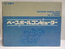 CONSOLE VINTAGE ELECTRONIC BASEBALL GAME - MICRO ELECTRONICS JAPAN BOXED 1976