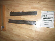 NEW Genuine Hyundai Matrix Door Sill Trims Kick Scuff Plates E845017000