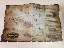 Assassin's Creed IV 4 Black Flag Treasure Map Pack *NEW!*