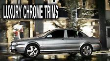 Jaguar X-Type Stainless Steel Chrome Pillar Posts by Luxury Trims 2002-2009 6pcs