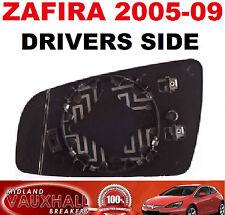 ZAFIRA B ELECTRIC HEATED DOOR WING MIRROR GLASS DRIVERS OFF SIDE CDTI LIFE CLUB