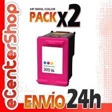 2 Cartuchos Tinta Color HP 300XL Reman HP Photosmart C4680 24H