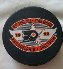 1992 Philadelphia NHL All-Star Game Puck