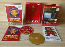 Wii SUPER MARIO ALL-STARS 25th ANNIVERSARY LIMITED EDITION GAME COMPLETE IN BOX