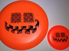New Innova Dx Aviar Halloween Pumpkin Stamp 175g + Mini - Disc Golf