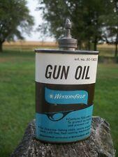 Vintage Western Field Lead Top 3 Oz. Gun Oil Can Sold By Montgomery Ward ~ Empty