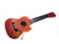 Kindergitarre ** Gitarre für Kinder 54 cm mit 6 Metall-Saiten in HOLZ - Optik