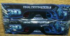 4 Stück - 3D-Brillen / Final Destination 4