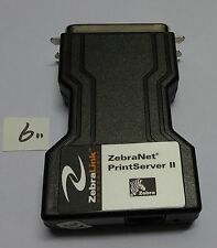 Zebra ZebraNet PrintServer II External Parallel Print Server Network